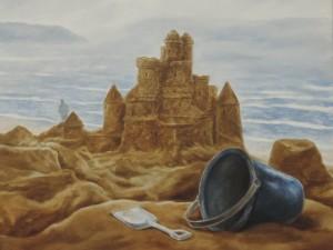 Bill Plank '79, Spirit of the Sea, 2014, acrylic on canvas