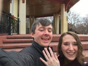 Matt Huston '12 and Katie Brenzel '11